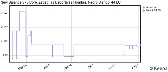 New Balance 373v2, Zapatillas para Hombre, Negro (Black/White Ca2), 44 EU