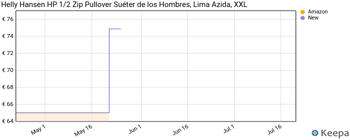 Helly Hansen HP 1/2 Zip Pullover Suéter de los Hombres, Lima Azida, XXL